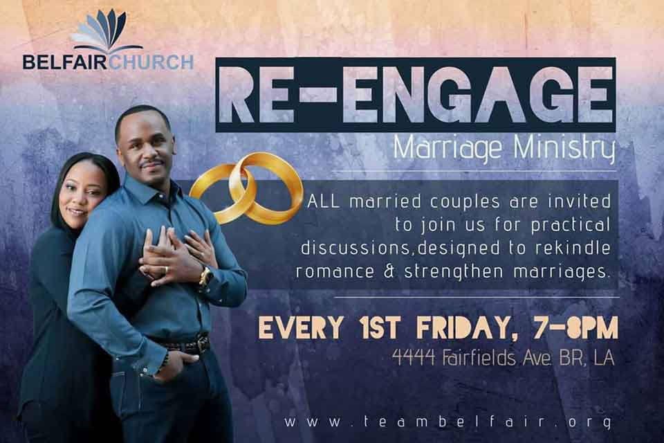 RE-engage Marriage Ministry